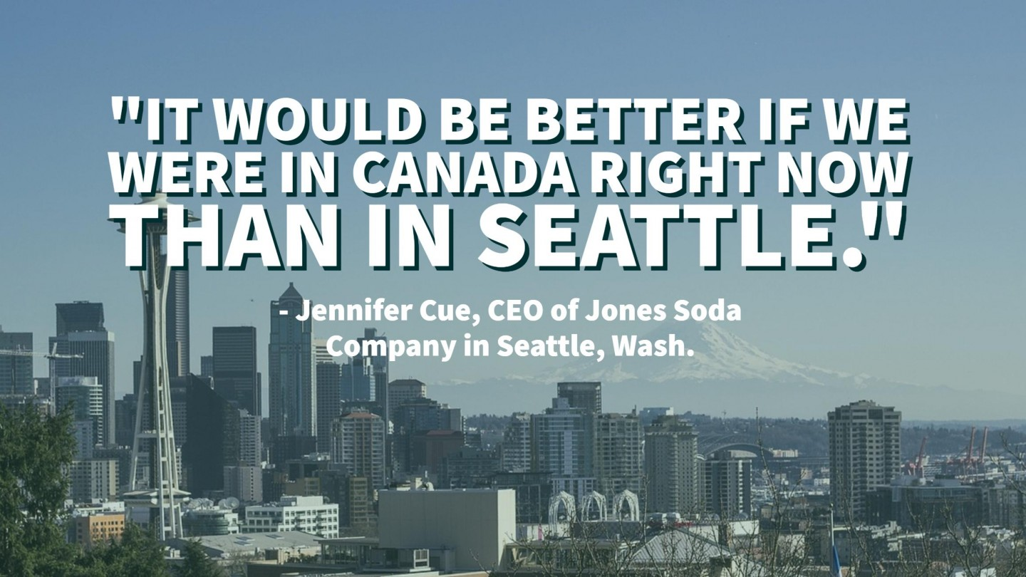 Seattle Small Business Owner It Would Be Better If We Were In Canada Right Now American Beverage Association